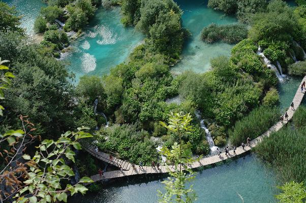 Les lacs et les cascades de Plitvice