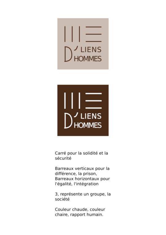 Logo pour l'association Liens d'hommes