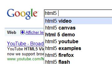 Proposition pour html5, video