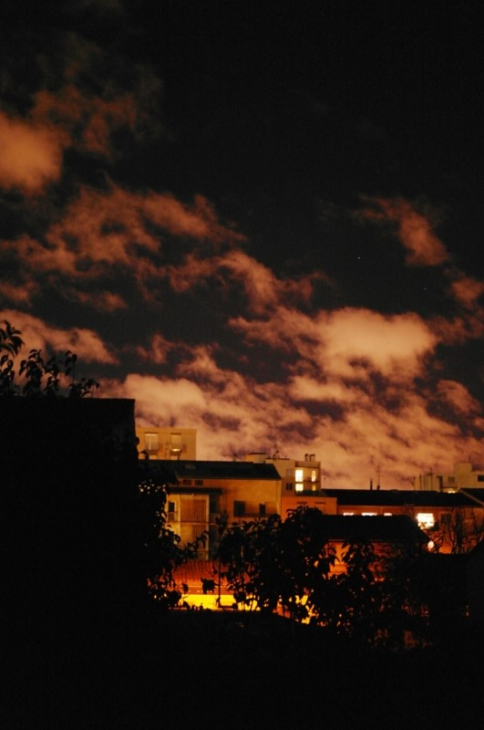 Photographie : lumière de nuit