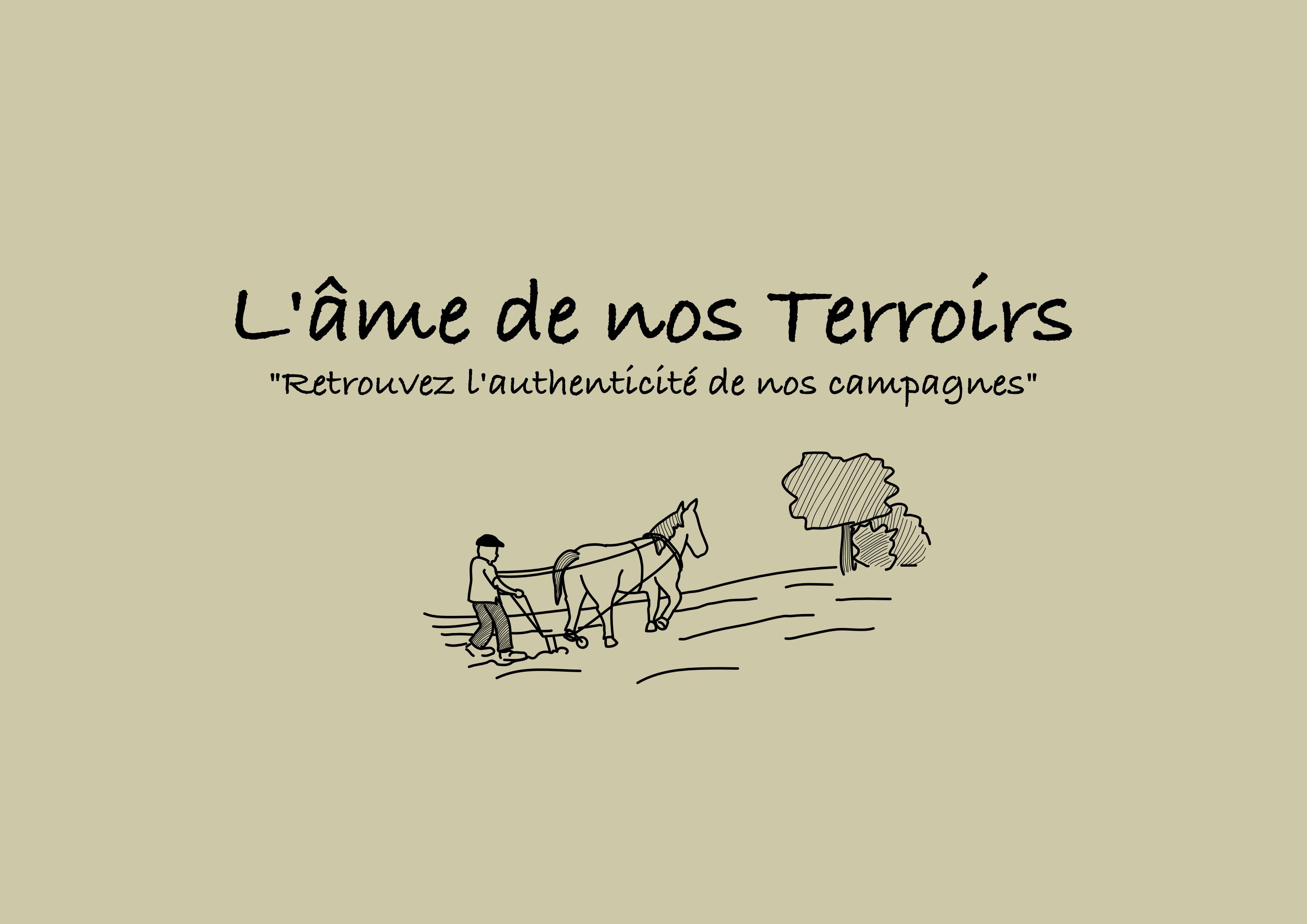 Logo sur fond beige de L'ame de nos terroirs