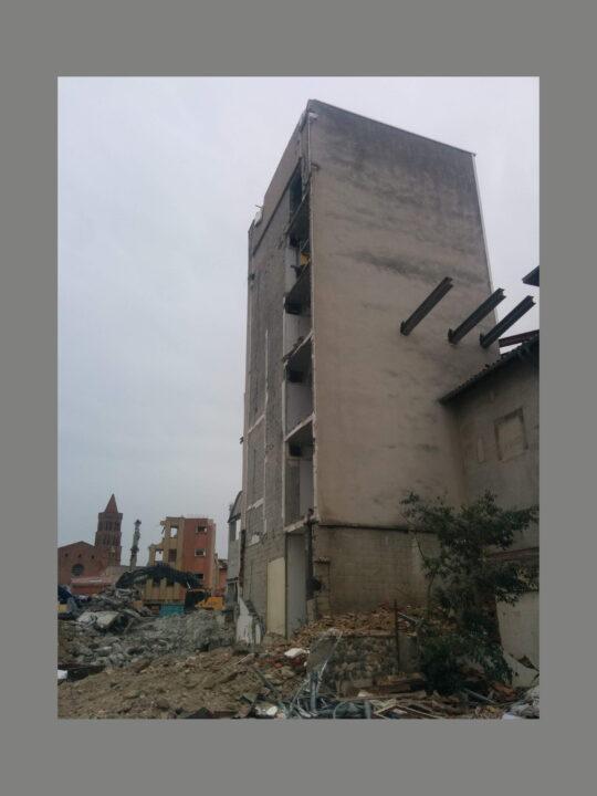 Une scène de démolition à Toulouse